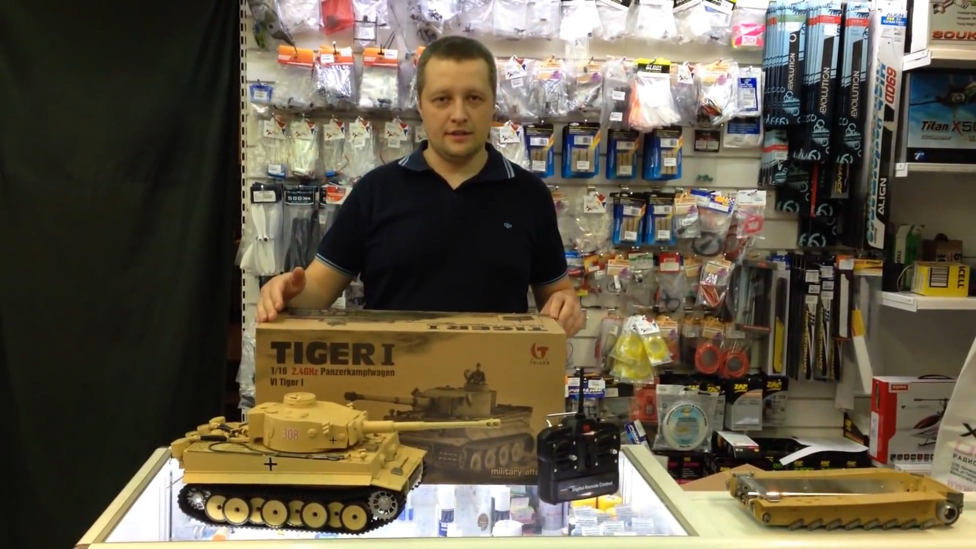 "Обзор р/у танка Taigen German Tiger ""Тигр"" (Early version) 2.4G 1:16"